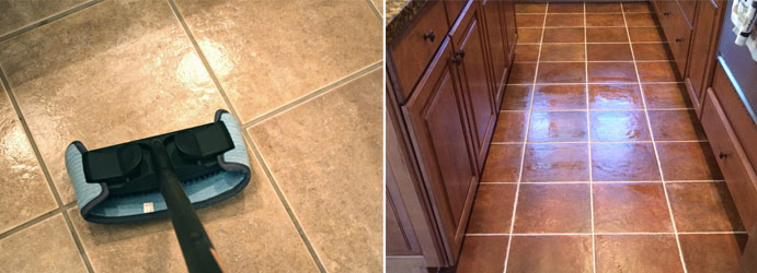 Clean the Ceramic Tile Floors